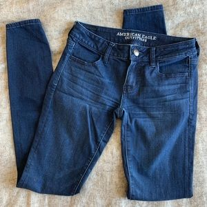American Eagle Superlow Rise Jegging